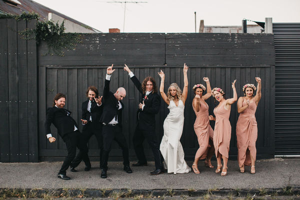 Lauren And Dan Bridal Party
