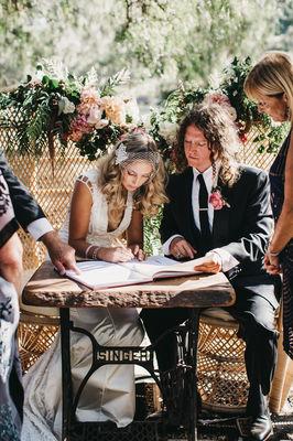 Lauren And Dan Signing