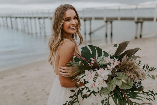 Toast Weddings Beach Wedding The Baths Emily Howlett Photography 182