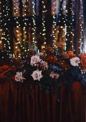 Marlon And Scarlett Bridal Table